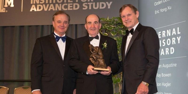 John Sharp, Dr. Sean Brosnan and Dr. John Junkins