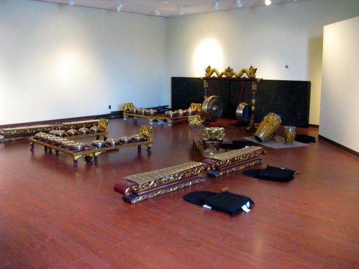 The School of Music's gamelan.