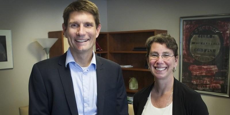 Dr. Richard Isnor and Dr. Aimée Surprenant