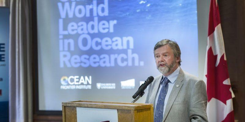 Dr. Paul Snelgrove has been appointed Memorial's interim associate scientific director for the Ocean Frontier Institute.