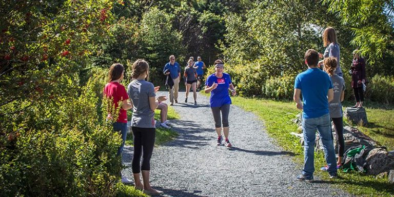 Memorial participates in annual Terry Fox Run