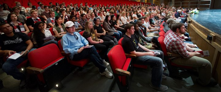 First-year students at the St. John's Arts and Culture Centre.
