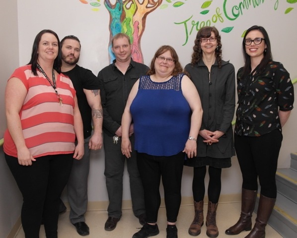 The Growing Community Power team is Lilly Lush, Adam Furlong, Eddie Locke, Doreen Browne, Dr. Morgan Gardner and Dr. Kate Scarth.