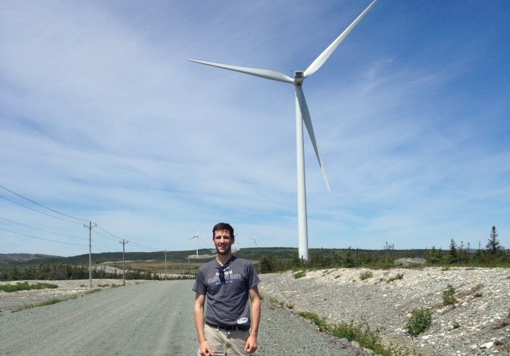 Nick Mercer says Newfoundland and Labrador's energy future is in wind power.