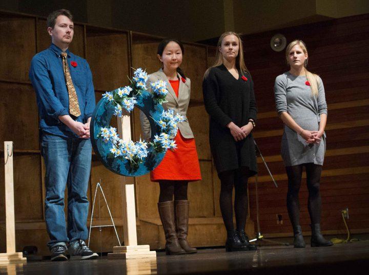 From left: Igor Gribanov, Elvira Gasanova, Helle Egger Stjern and Kristin BØe