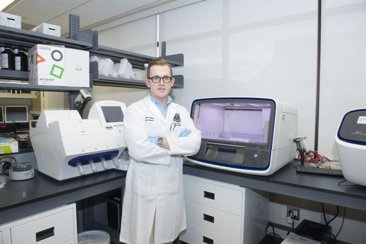 Prince Edward Island native Justin Pater came to Memorial to complete his PhD in genetics.