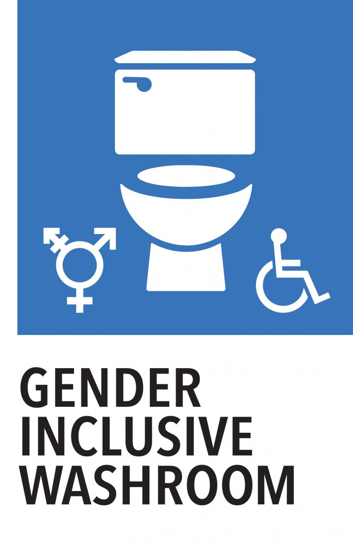 Signage for Gender Inclusive Washrooms