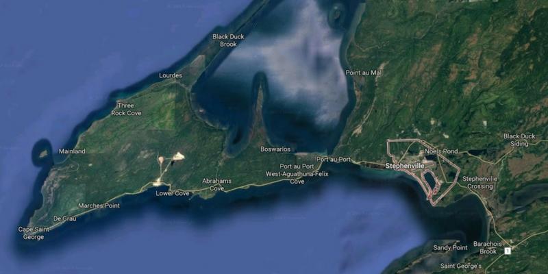 The Bay St. George region.