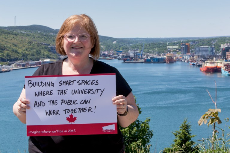 "Jennifer Adams says ""Building smart spaces where the university and public can work together!"""