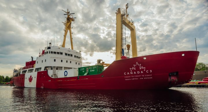 The Canada C3 expedition stretches from Toronto, Ont., to Victoria, BC, via the Northwest Passage.