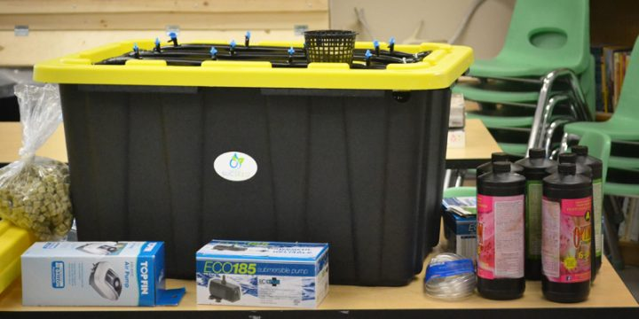 Project Sucseed units, like the one pictured, are being delivered to every major community in Nunavut thanks to a partnership between Enactus Memorial and Woodward Group of Companies.