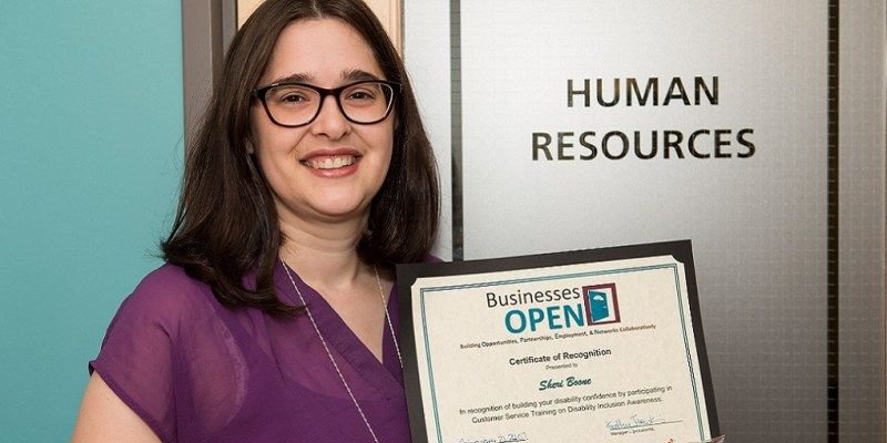 MyHR shared services consultant Sheri Boone