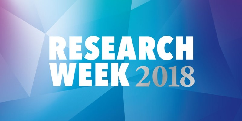 Research Week runs May 12-17.