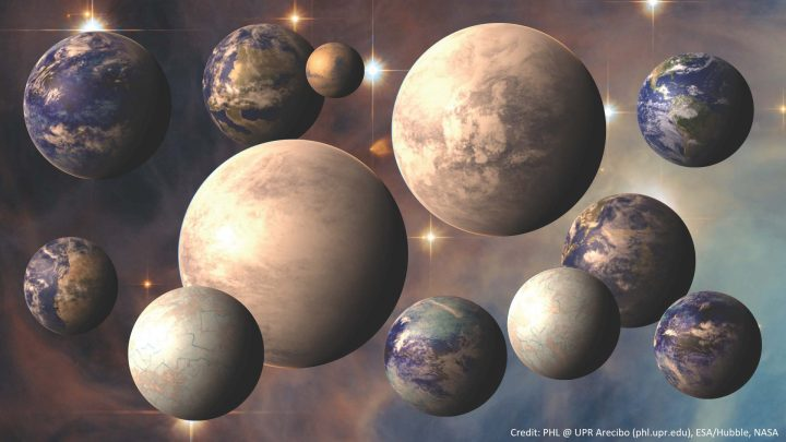 Artists Conception of Exoplanets