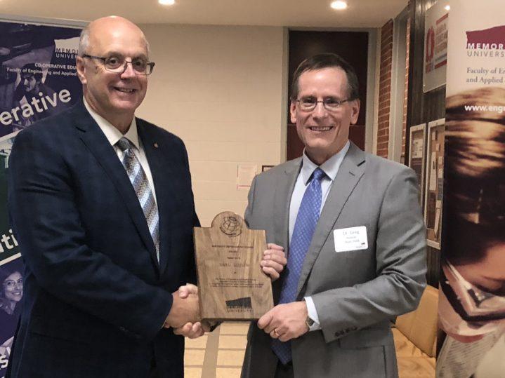 Earl Ludlow and Dr. Greg Naterer