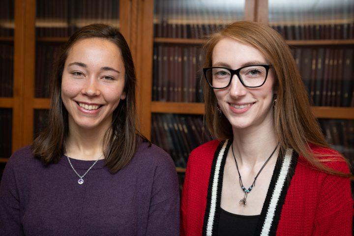 Alexandra Hayward and Kelly Young