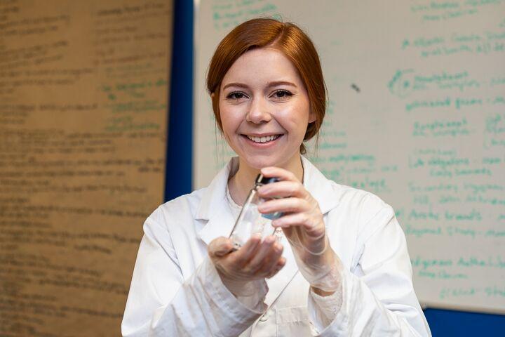 Natasha Healey says marine microplastic research is critical.