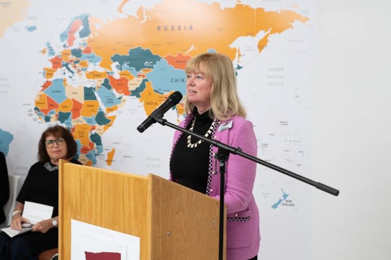 Sonja Knutson director Internationalization Office