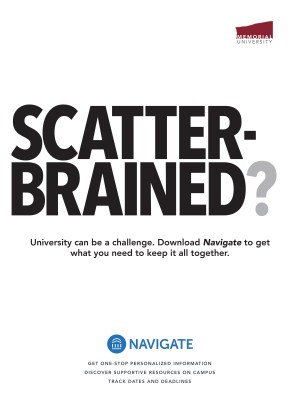 Navigate marketing poster