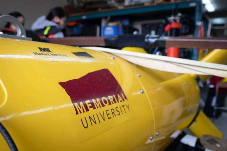 Memorial navigated to top of world university rankings for ocean tech research.