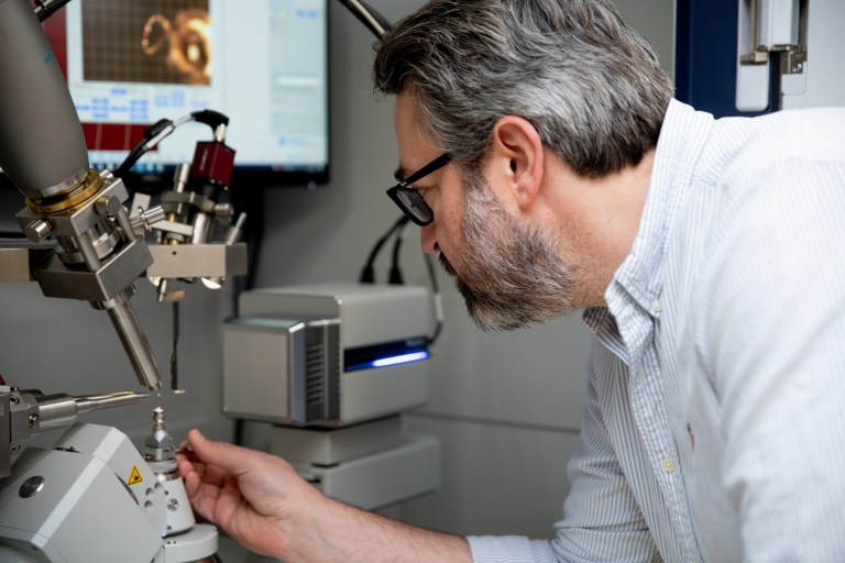 Research infrastructure acquired by the CFI Innovation Fund grant will add extensive research capacity to Memorial's existing facilities, such as the X-ray diffractometer shown here, installed in 2019.