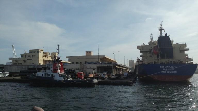 The port in Dakar, Senegal.