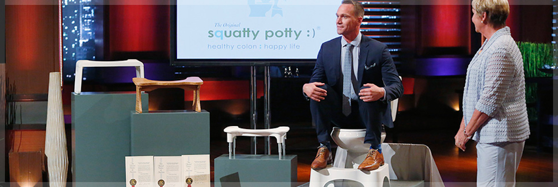 Image result for squatty potty shark tank