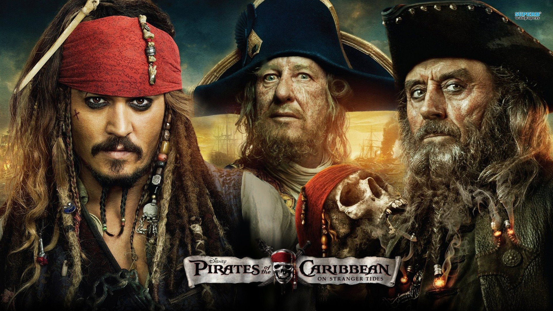 Image result for 1) PIRATES OF THE CARIBBEAN: ON STRANGER TIDES
