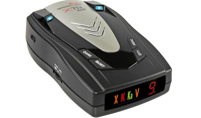 Whistler XTR 265 Radar Detector Review Gazette Review