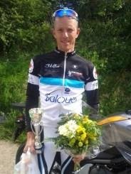 Vincent Soulet (CC Salouël), vainqueur du Grand prix FFC de Saint Riquier
