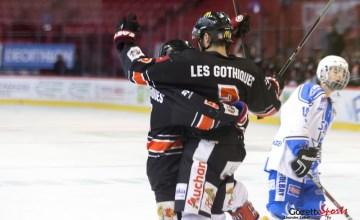 hockey sur glace - u 22 - les gothiques 0130 - leandre leber - gazettesports