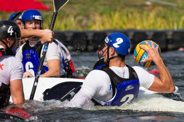kayak polo champion d'europe