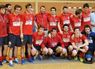 hockey en salle-Equipe ASC 2016- vice champion de france élite