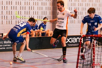 FLOORBALL - Hoplites vs IFK Paris - Gazette Sports - Coralie Sombret-11
