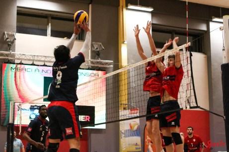 VOLLEY-BALL - AMVB vs Lyon - Gazette Sports - Coralie Sombret-12