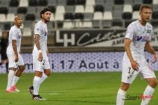 football - ligue 1 - amiens sc vs leganes amical - jordan lefort _0002 leandre leber - gazettesports