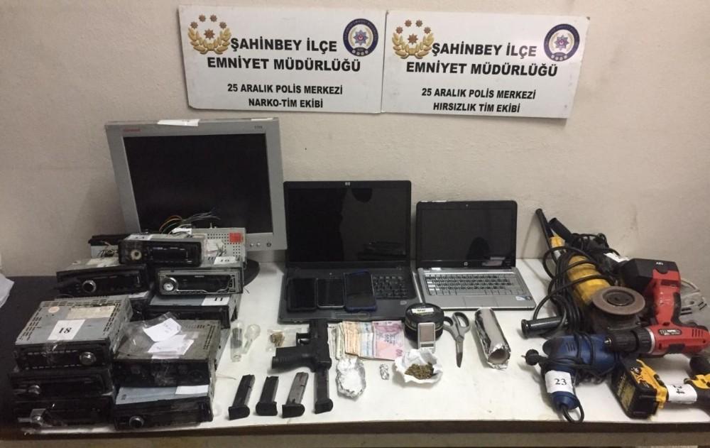 Çalıntı malzeme karşılığında uyuşturucu takas eden şahıs tutuklandı