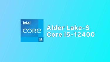 Core i5-12400のベンチマーク出現。3万円以下でRyzen 5 5600X超えに?