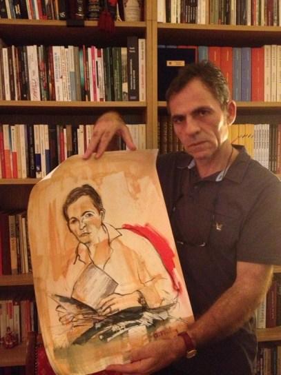 Musa Jupolli, Autor, Paris