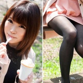 素人SEX画像 アイス舐める姿みてたらついつい欲情しちゃった 街の美人さん22才 リアル衝動