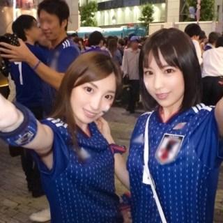 【ハメ撮リSEX】ワールドカップ観戦サポーターをハメる!絶対負けられない戦い!狙えディフェンスラインの裏!決めろハットトリック!