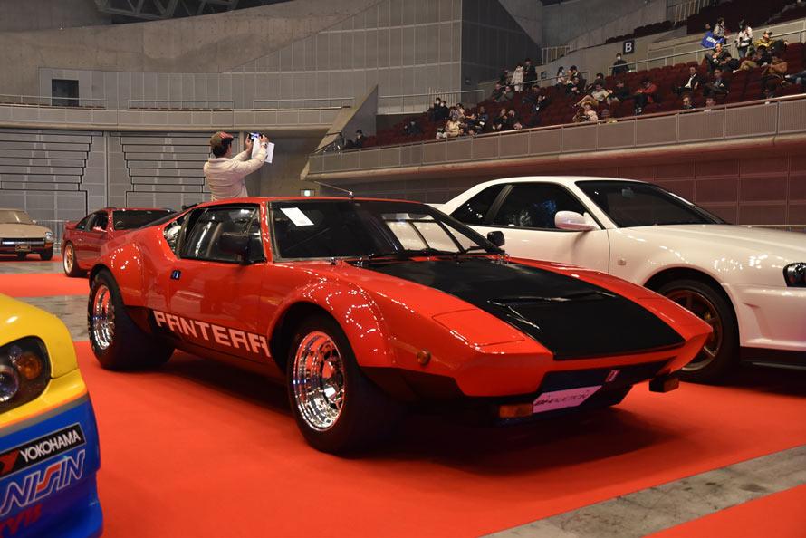 スーパーカー世代にはたまらないデ・トマソ・パンテーラ!イタリアとアメリカの合作とも言える70年代を代表するスーパーカー。しかも今回の出品はレース参戦のために作られたグループ4仕様!まさに希少車と言える一台が3位にランクイン