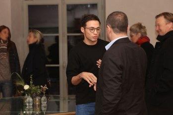 Monsieur le Maire avec notre directeur Olivier Granet