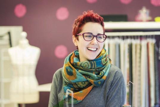 Ana Dedal, emprendedora de taller de costura