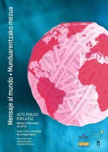 Mensaje al Mundo — Acto por la Paz