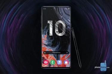 この「デザイン」ならまさに「フルモデルチェンジ」に。「Galaxy Note10」のレンダリング画像が公開に。