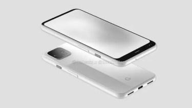 上べゼルはほとんど目立たず。Google Pixel 4の実機画像がリーク。