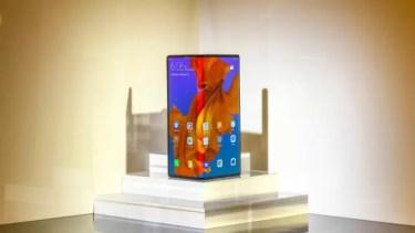 「SIMフリー」なら「Galaxy Fold」より割安。「Huawei Mate X」33万9000円で購入可能