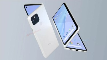 Google Pixel Fold。Pixel2021のフラッグシップモデルに