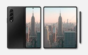 Galaxy Z Fold 3。前モデル対比でディスプレイがより明るく